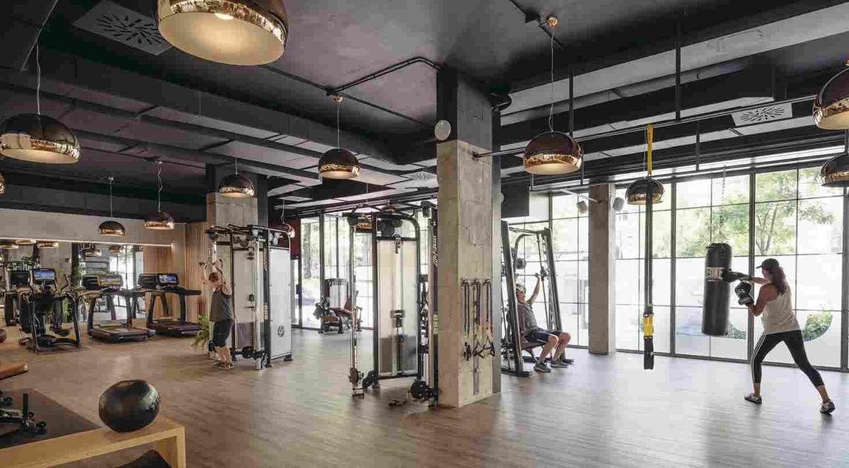 ремонт фитнес клубов